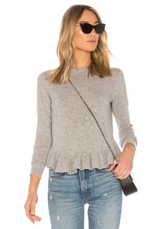 Autumn Cashmere Ruffle Sweater