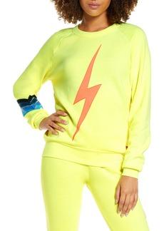 Aviator Nation Bolt Stitch Crewneck Sweatshirt
