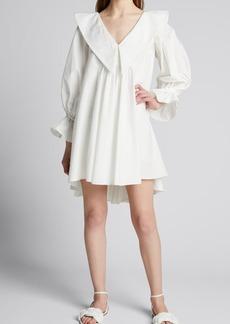 Azeeza Liv Poplin Collared Dress