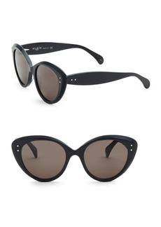 Azzedine Alaia 54MM Cat-Eye Sunglasses