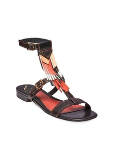 B Brian Atwood B-Megan Ankle Strap Sandals