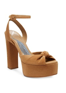 B Brian Atwood Gabby Ankle-Strap Sandals