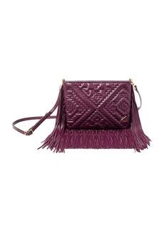 B BRIAN ATWOOD Nora Leather Fringe Crossbody Bag