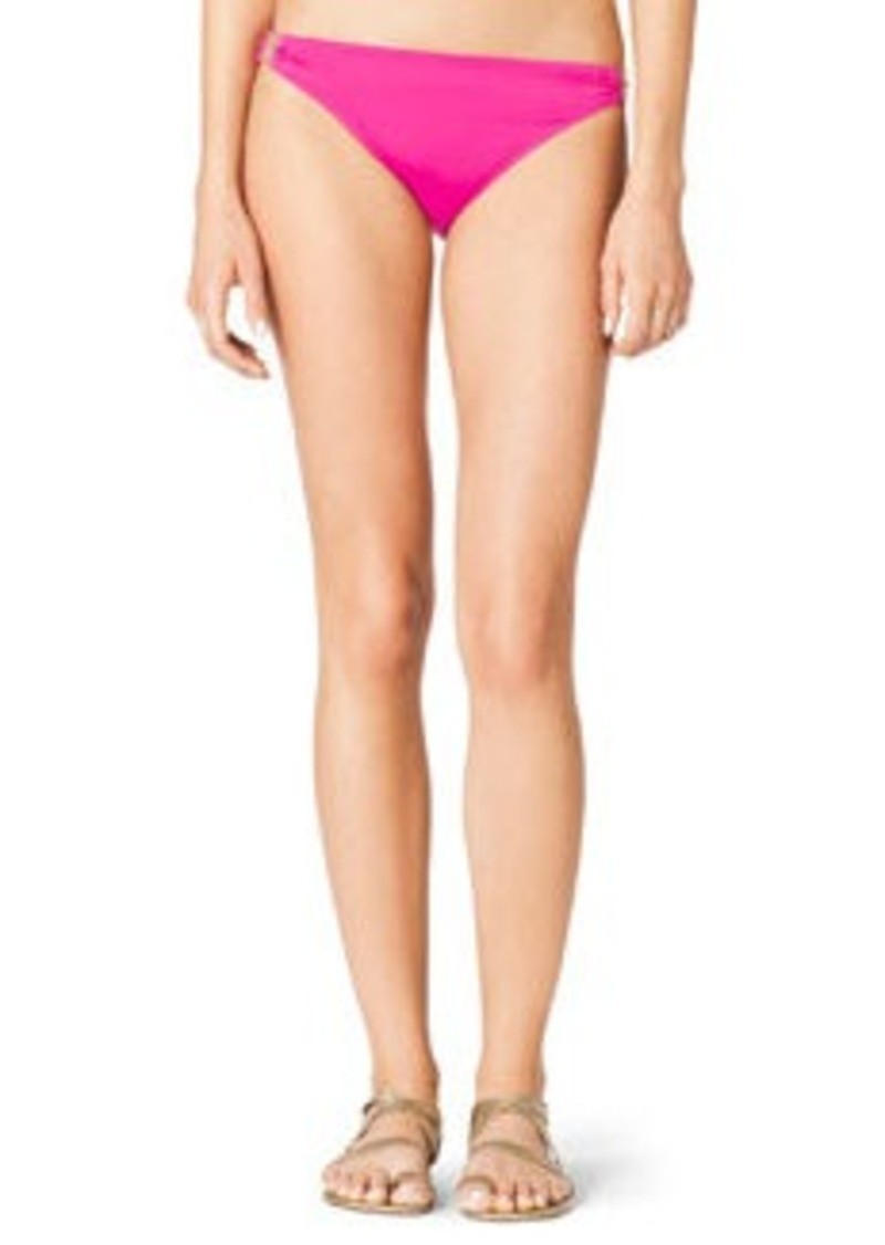 MICHAEL Michael Kors Bikini Bottom with Hardware   Bikini Bottom with Hardware