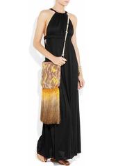 T-Bags Slub jersey maxi dress