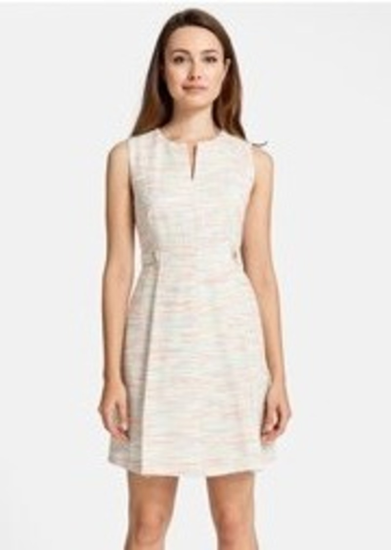 Cynthia Steffe 'Addison' Bouclé Fit & Flare Dress