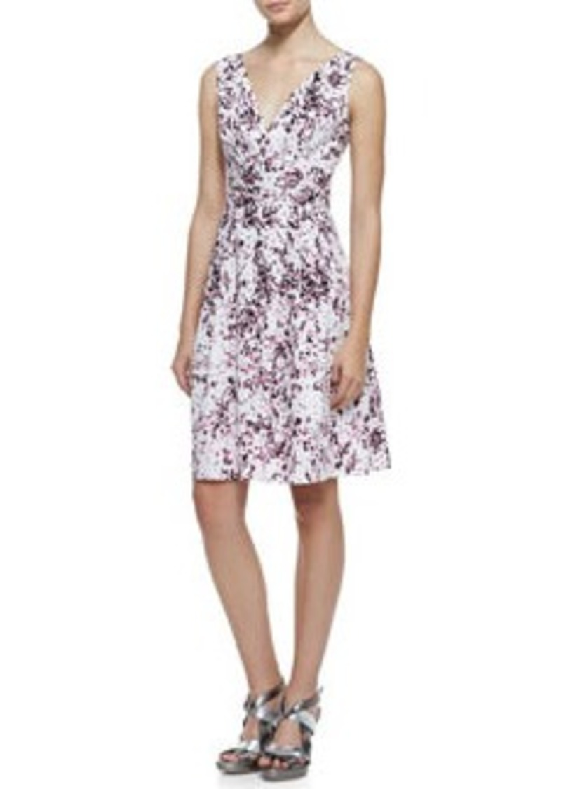 Nanette Lepore Shimmy Floral-Print Sleeveless Dress   Shimmy Floral-Print Sleeveless Dress