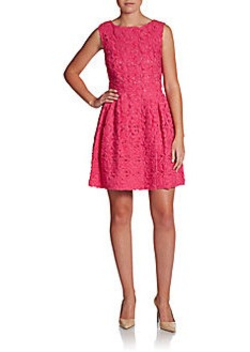 Cynthia Steffe Trixie Textured Lace Dress