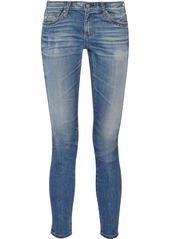 AG Adriano Goldschmied AG Jeans The Legging Ankle studded mid-rise skinny jeans