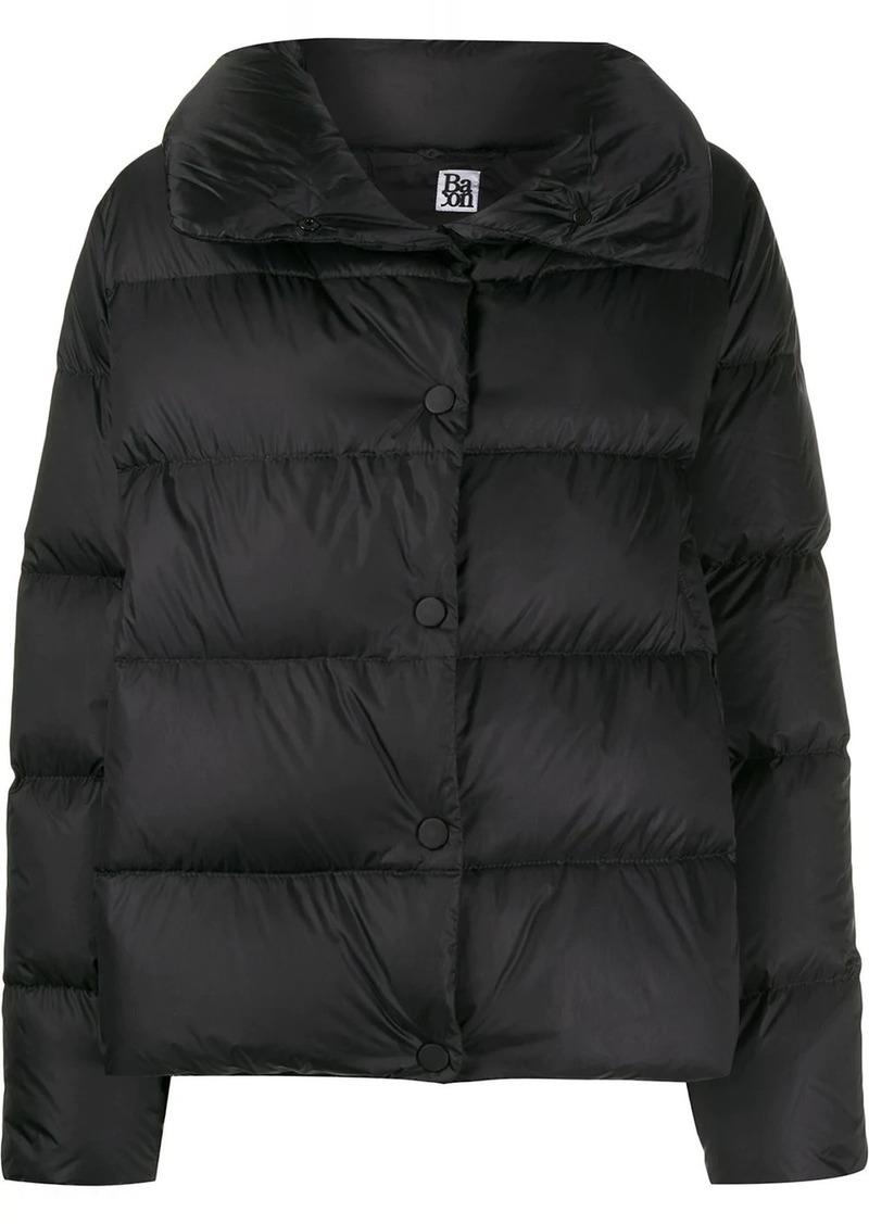 Bacon high neck padded jacket