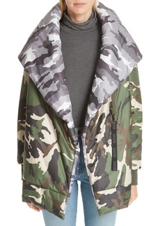 Bacon Big Blanket 78 Camo Puffer Coat