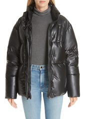 Bacon bacon eco boo faux leather down puffer jacket abv3aa9e5fa a