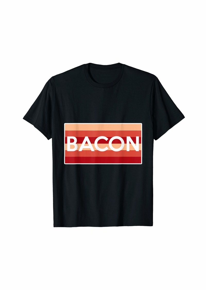 Bacon Shirt for Men and Boys - Bacon T-Shirt