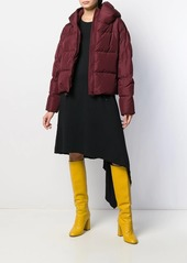 Bacon cropped puffer jacket