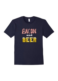 Funny Bacon and Beer T-Shirt