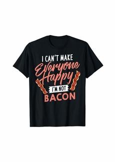 I Love Bacon Gift Day Vegan Candy T-Shirt