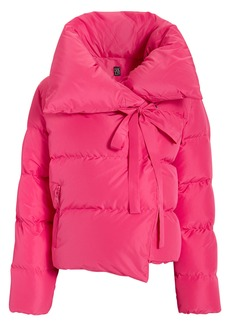 Bacon Magenta Puffer Jacket