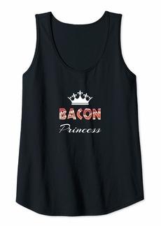 Womens The Bacon Princess Gift Tank Top