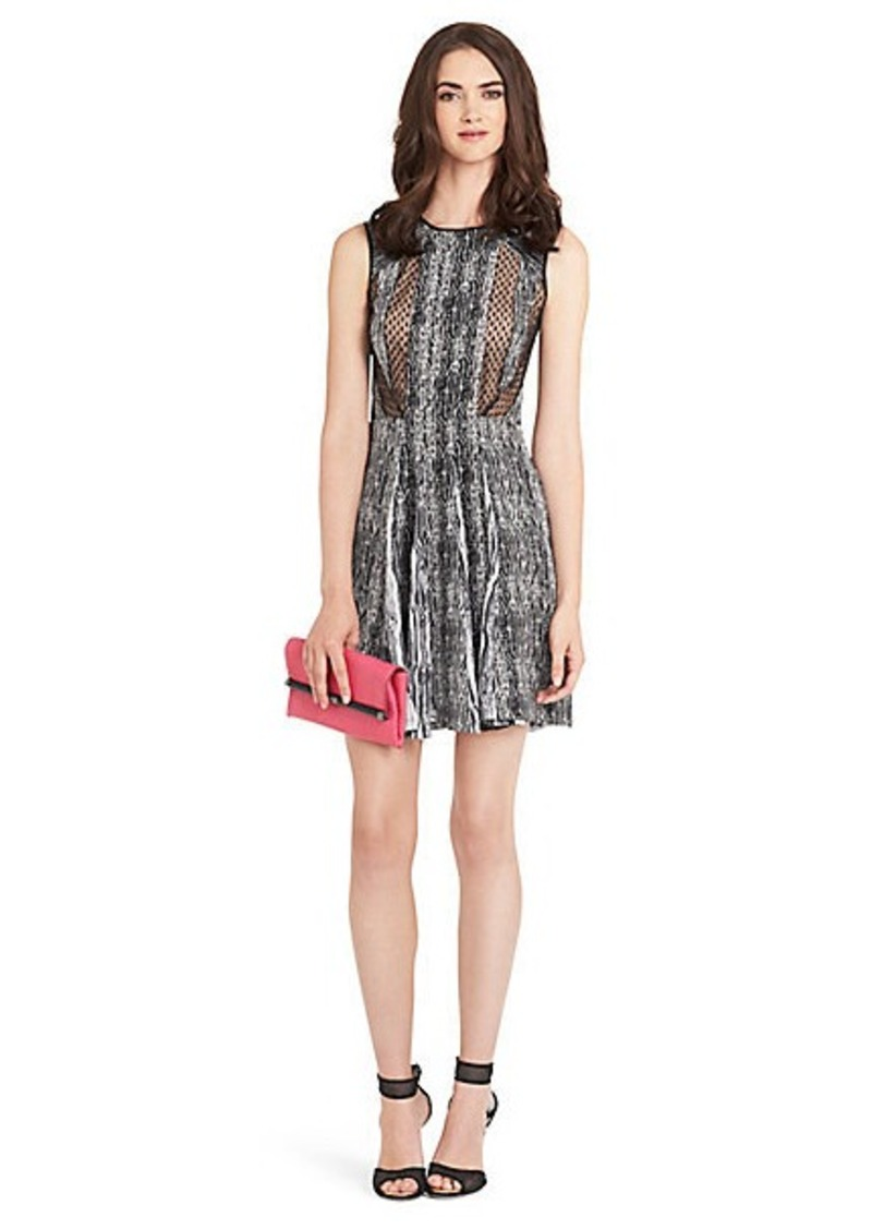 Diane Von Furstenberg Ida Printed Silk Dress