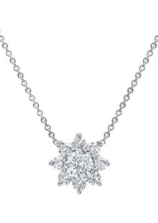 Badgley Mischka 14K White Gold & 2.20 TCW Lab-Grown Diamond Star Pendant Necklace