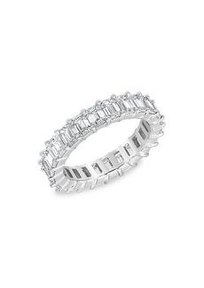 Badgley Mischka 14K White Gold & 3.84 TCW Lab-Grown Diamond Eternity Ring