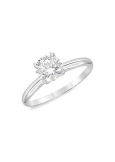Badgley Mischka 14K White Gold & 2 TCW Lab-Grown Diamond Solitaire Engagement Ring
