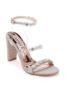 Badgley Mischka Adel Crystal Embellished Ankle Strap Sandal (Women)