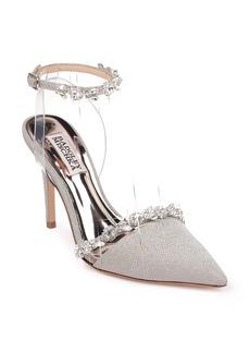 Badgley Mischka Adelina Ankle Strap Pump (Women)