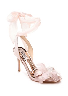 Badgley Mischka Almira Ankle Tie Sandal (Women)