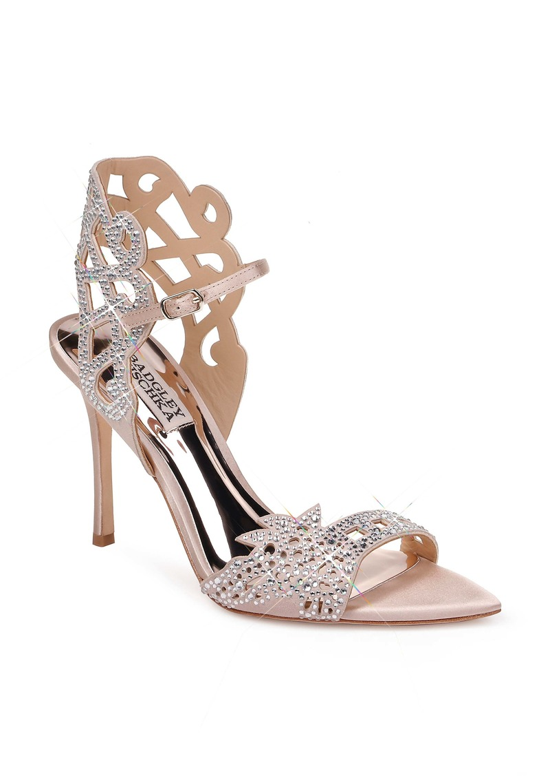 Badgley Mischka Amery Embellished Sandal (Women)