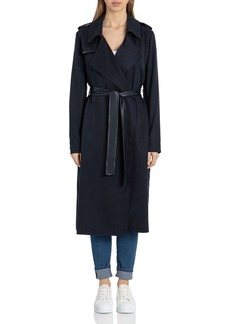 Badgley Mischka Angelina Belted Trench Coat