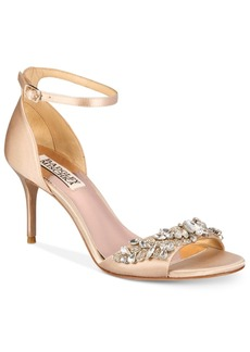 Badgley Mischka Bankston Ankle-Strap Evening Sandals Women's Shoes