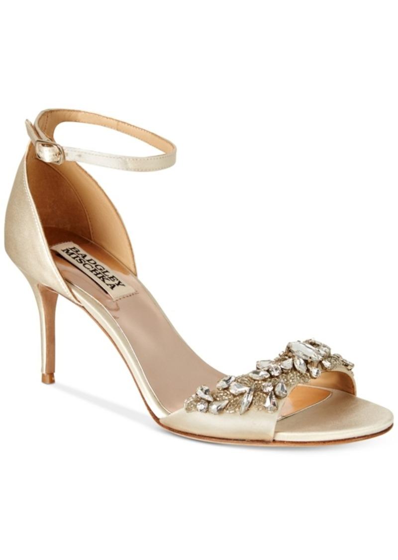 a91d5605737 Badgley Mischka Badgley Mischka Bankston Ankle-Strap Evening Sandals ...