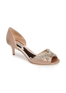 Badgley Mischka Barclay Kitten Heel d'Orsay Sandal (Women)