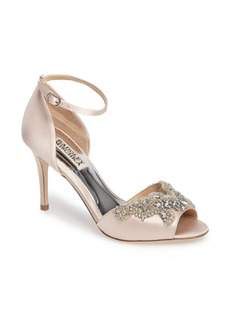Badgley Mischka Barker Ankle Strap d'Orsay Pump (Women)