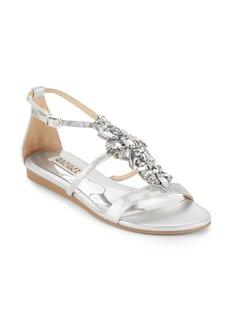 Badgley Mischka Barstow Embellished Sandals