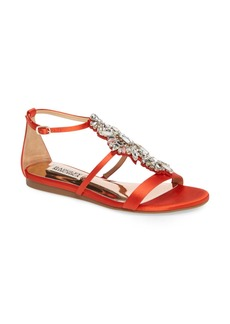 Badgley Mischka Barstow Embellished Strappy Sandal (Women)