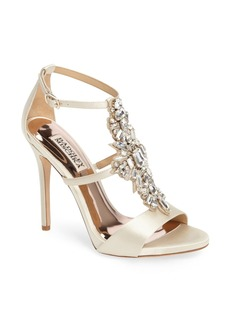 Badgley Mischka Basile Crystal Embellished Sandal (Women)