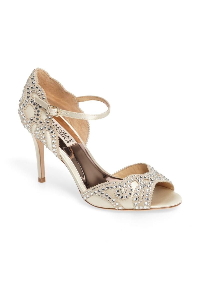 Badgley Mischka Belinda Ankle Strap Pump (Women) (Nordstrom Exclusive)