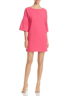 Badgley Mischka Bell-Sleeve Shift Dress - 100% Exclusive