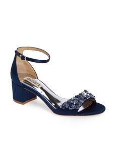 Badgley Mischka Bellisima Crystal Embellished Sandal (Women) (Nordstrom Exclusive)