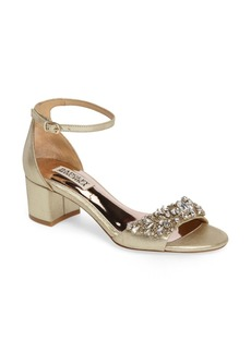 Badgley Mischka Bellisima Crystal Embellished Sandal (Women) (Nordstrom Exclusive)