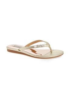 Badgley Mischka Bellmont Flip Flop (Women)
