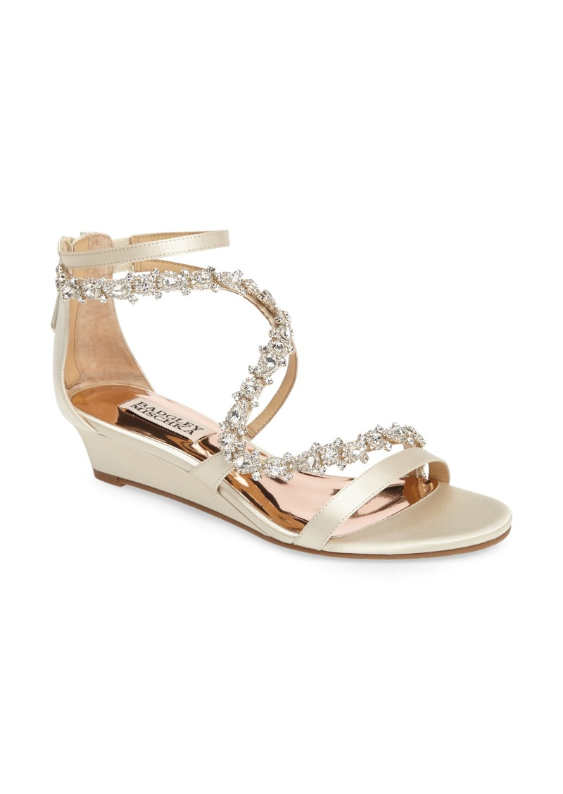53adb7e9dd7 Belvedere Embellished Wedge Sandal (Women)