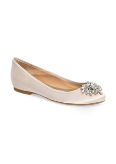 Badgley Mischka Bianca Embellished Ballet Flat (Women)