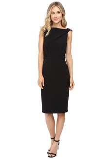 Badgley Mischka Blouson Sheath