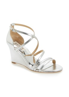 Badgley Mischka Bonanza Strappy Wedge Sandal (Women)