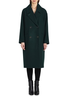 Badgley Mischka Cameron Double Breasted Wool Coat