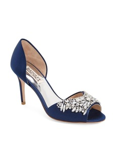 Badgley Mischka 'Candance' Crystal Embellished d'Orsay Pump (Women)