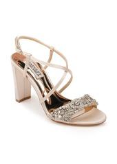 Badgley Mischka Carolyn Crystal Embellished Sandal (Women)